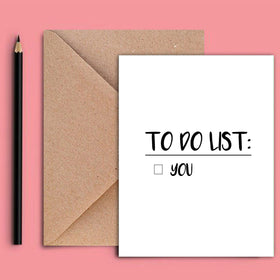 Greeting Card - To Do-STATIONERY-PropShop24.com
