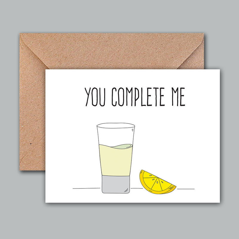 Greeting Card - You Complete Me-GREETING CARDS-PropShop24.com