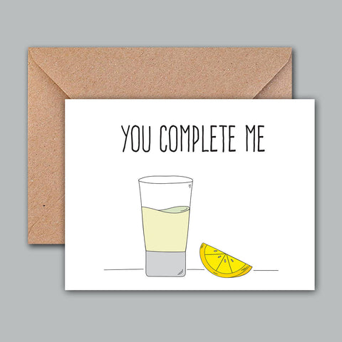Greeting Card - You Complete Me-PropShop24.com