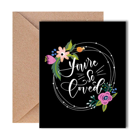 Greeting Card - You're So Loved-Stationery-PropShop24.com