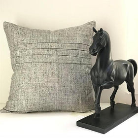 Cushion Cover - Grey Textured-HOME-PropShop24.com