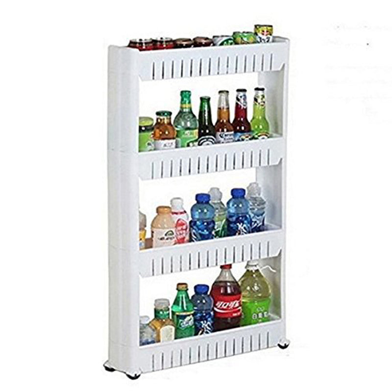 4 Layer Storage Organizer Rack Shelf With Wheels-DINING + KITCHEN-PropShop24.com