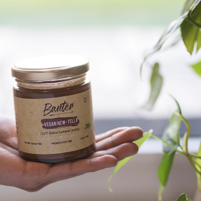 Nut Butter- Vegan New-Tella-SNACK + HEALTHY TREATS-PropShop24.com