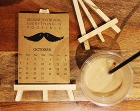 The Moustache Calendar-STATIONERY-PropShop24.com