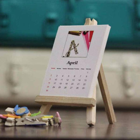 desk Calendar - white-Stationery-PropShop24.com