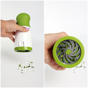 Herb Grinder - White And Green-DINING + KITCHEN-PropShop24.com