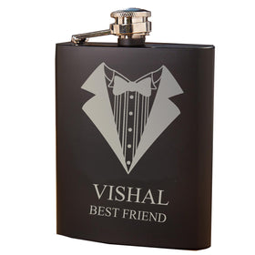 Personalized - Hip Flask For Men - C.O.D NOT AVAILABLE-HOME-PropShop24.com