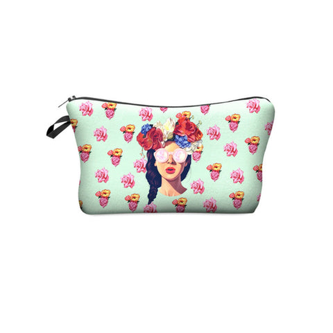 Makeup Pouch - hipster girl-FASHION-PropShop24.com