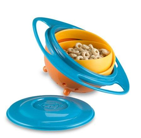 360 Degree Rotate Spill Proof Bowl-KITCHEN-PropShop24.com