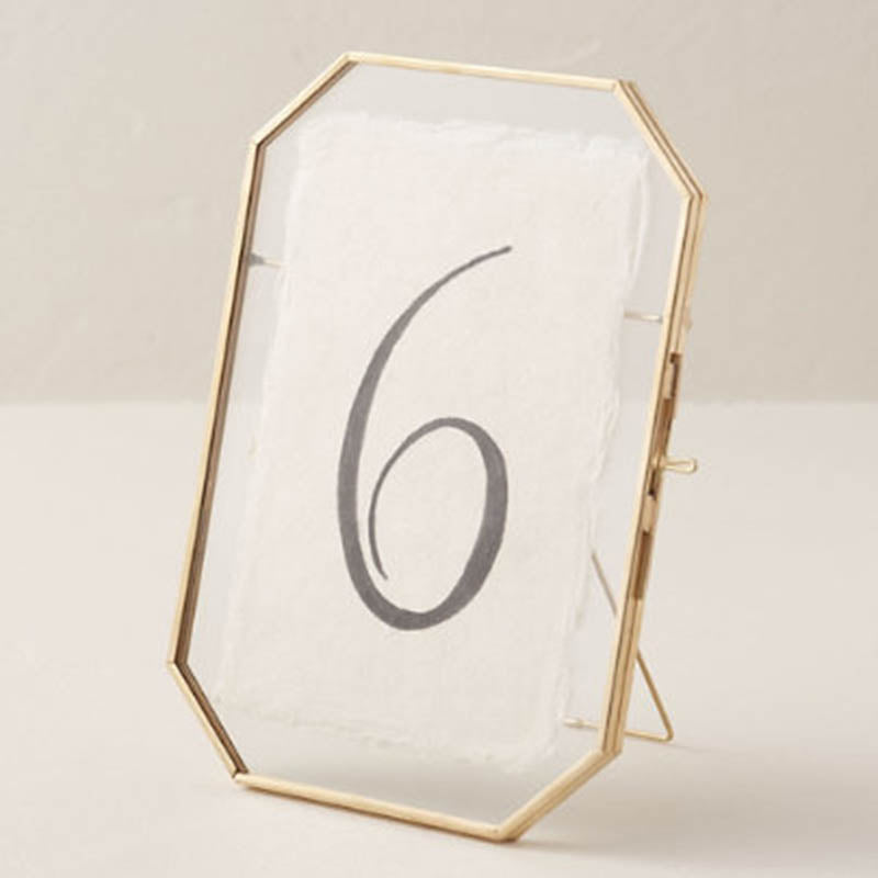 Table Photo Frame - Octagon-HOME ACCESSORIES-PropShop24.com