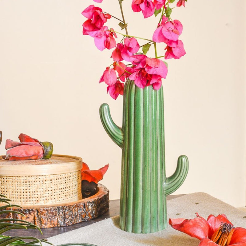 Vase - The Cactus Flower-HOME ACCESSORIES-PropShop24.com