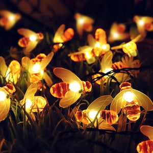 LED String Fairy Lights - Honey Bees - 13 Feet-HOME ACCESSORIES-PropShop24.com
