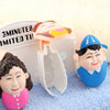 Toothbrush Holder - Figurine-BATHROOM ESSENTIALS-PropShop24.com