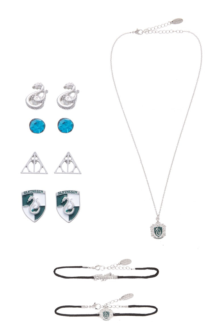Accessory Set - Harry Potter - Slytherin-NECKLACE-PropShop24.com