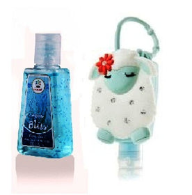 HAND SANITIZER - Lamb Designer Holder With Aqua Bliss - 29 ml-BEAUTY-PropShop24.com