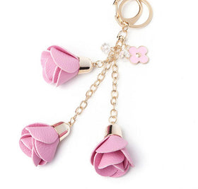 Pink Rose Keychain-FASHION-PropShop24.com