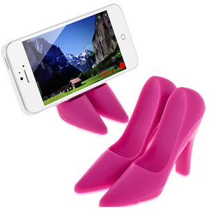 High Heeled Mobile Stand - Pink-DINING + KITCHEN-PropShop24.com