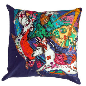 Universe on a Carousal Cushion Cover-HOME-PropShop24.com
