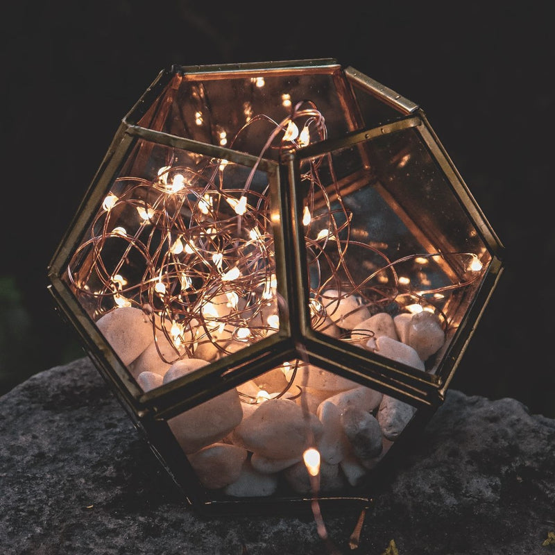 Prism Lantern - Hexagon-HOME ACCESSORIES-PropShop24.com