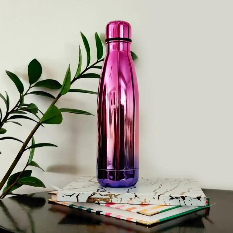 Steel Bottle - Holographic-DINING + KITCHEN-PropShop24.com