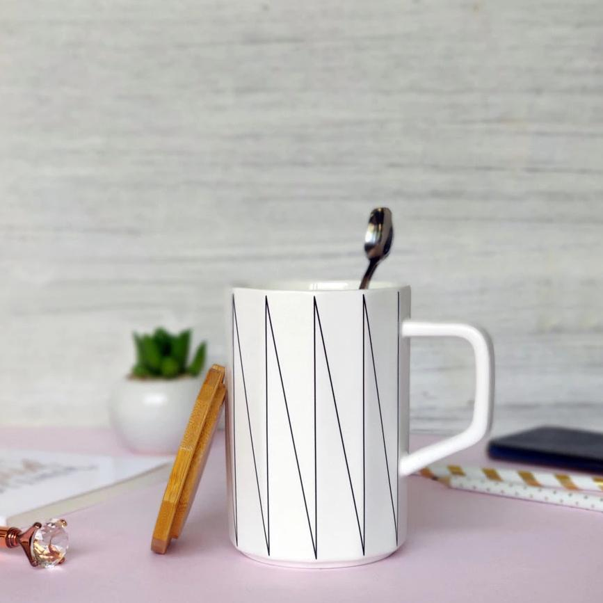Coffee Mug - Geometric-DINING + KITCHEN-PropShop24.com