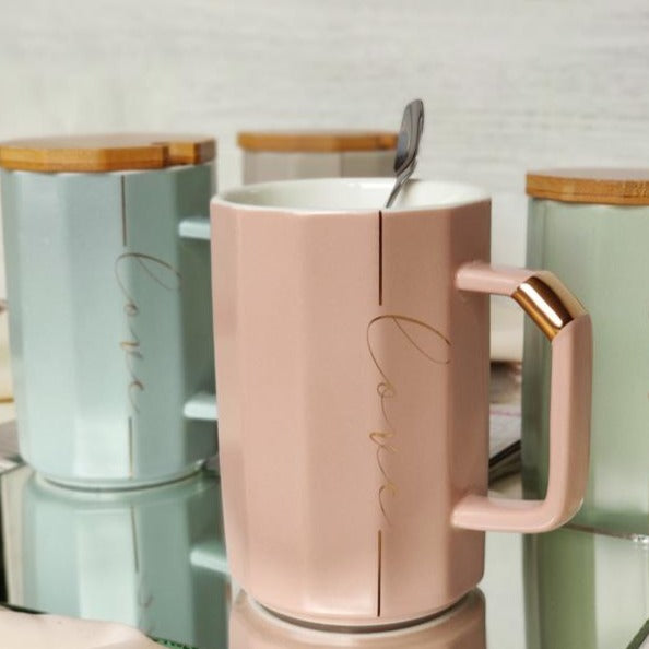 Coffee Mug - Geometric - Love-DINING + KITCHEN-PropShop24.com