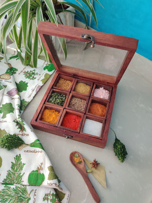 Spice Box - Sheesham Wood-DINING + KITCHEN-PropShop24.com