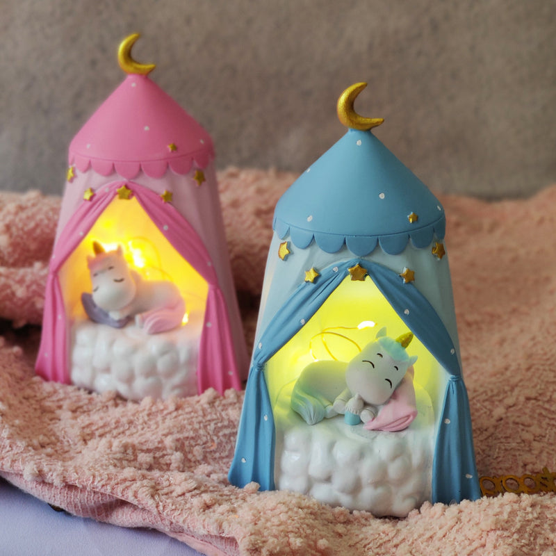Resin Night Lamp - Sweet Dreams-HOME ACCESSORIES-PropShop24.com