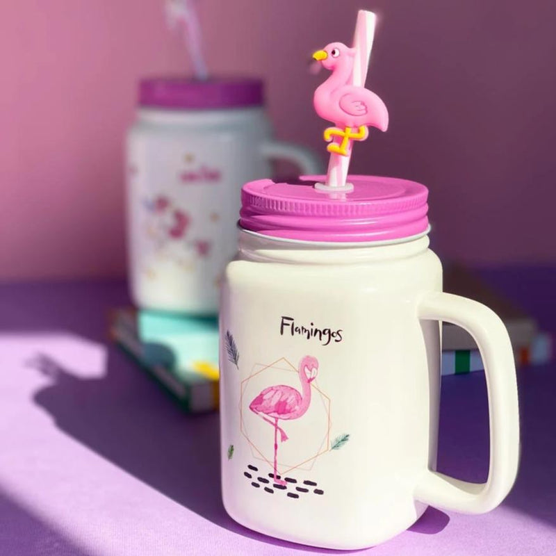 Mason Jar - Flamingo-DINING + KITCHEN-PropShop24.com