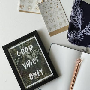 Frame - Good Vibes Only-HOME ACCESSORIES-PropShop24.com