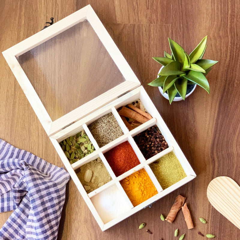 Spice Box - Pine Wood-DINING + KITCHEN-PropShop24.com