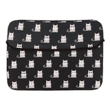Laptop Sleeve - White Cats With Black Background-Gadgets-PropShop24.com