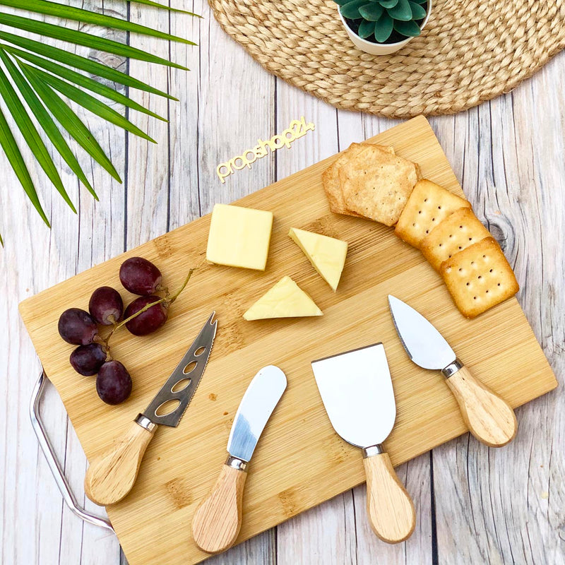 Cheese Knife Set - Set Of 4-DINING + KITCHEN-PropShop24.com