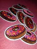Donut - Iron-On Patch-FASHION-PropShop24.com