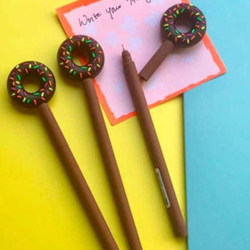 Gel Pen - Donut. Set of 2-Stationery-PropShop24.com