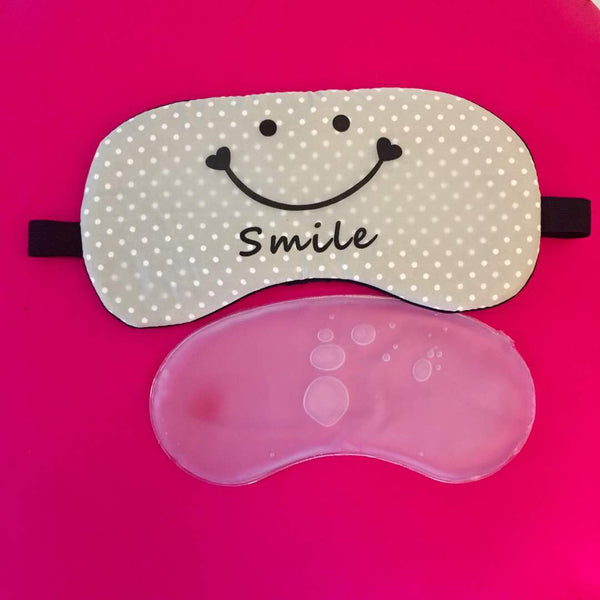 Gel Eye Mask - Smile Grey-Personal-PropShop24.com