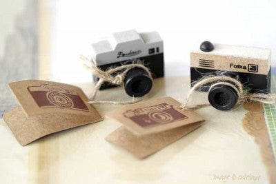 Camera Stamp-Stationery-PropShop24.com