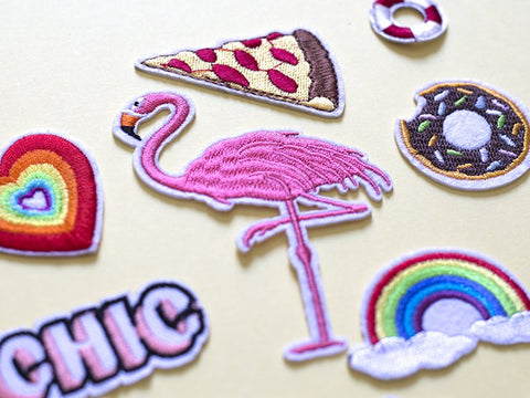 Patch - Flamingo Giant-Fashion-PropShop24.com