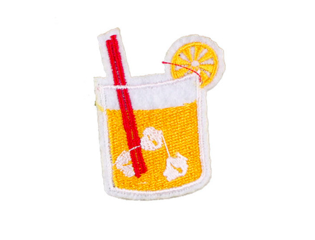 Patch - Yellow Drink-Fashion-PropShop24.com