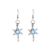 Earrings - Glow In The Dark - Star - Blue-EARRINGS-PropShop24.com