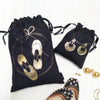 Accessory Bags - Sparkling Jutti - Set Of 2-WOMEN-PropShop24.com