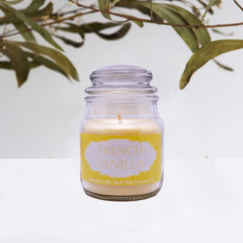 Scented Jar Candle-CANDLES + AROMA-PropShop24.com