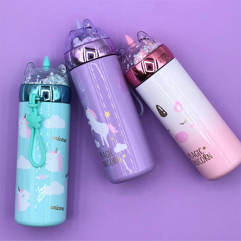 Unicorn Flask - Magical Shimmer - 330ml-DINING + KITCHEN-PropShop24.com