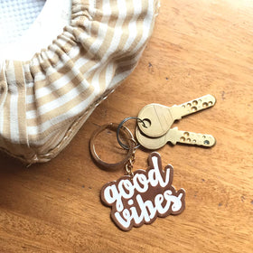Keychain - Good Vibes-FASHION-PropShop24.com