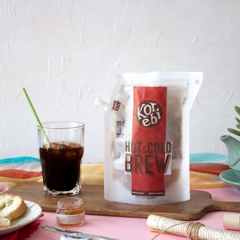 Hot And Cold Brew Bags - Set Of 5-TEA + COFFEE + BEVERAGES-PropShop24.com