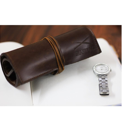 Watch Roll - Brown - propshop-24