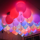 Led Balloons (Set Of 5) - Hp-PERSONAL-PropShop24.com