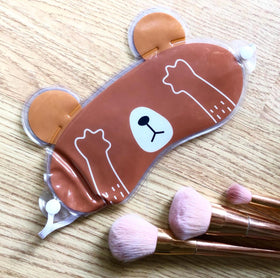 Gel Eye Mask - Brown Bear-FASHION-PropShop24.com