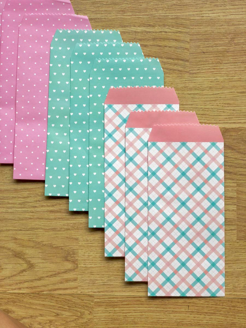Vintage Envelopes - Set Of 5-GIFTING ACCESSORIES-PropShop24.com