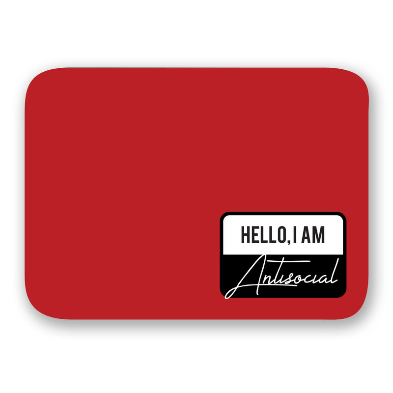 Laptop Sleeve - Hello Antisocial-LAPTOP SLEEVES-PropShop24.com